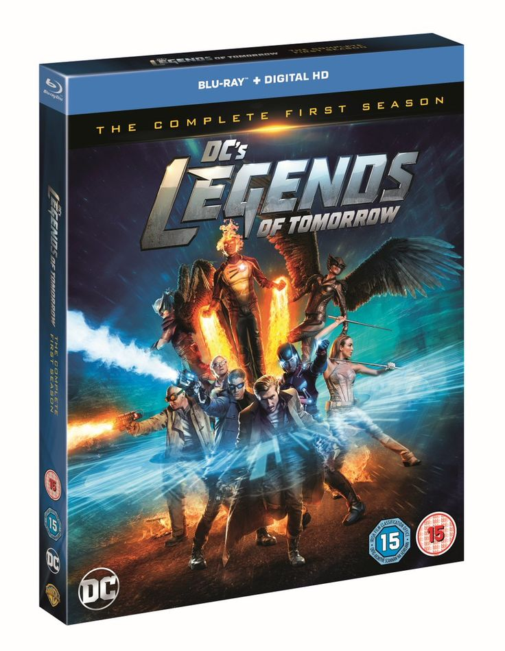 Coming to Bluray, DVD and Digital HD this week from Warner Bros. Home Entertainment are the superheroes of DC'S LEGENDS OF TOMORROW. http://moviemaven.homestead.com/