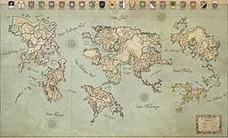 World of Eldoran, by Ilanthar on Cartographers' Guild