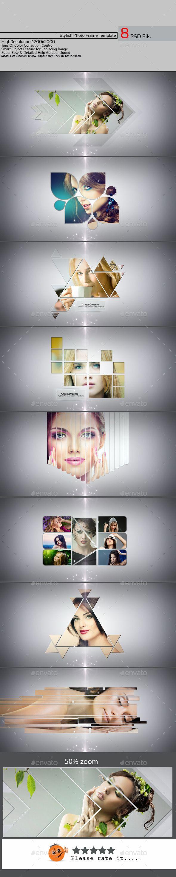 Stylish Photo Frame Template PSD Download: http://graphicriver.net/item/stylish-photo-frame-template-v01/11470560?ref=ksioks