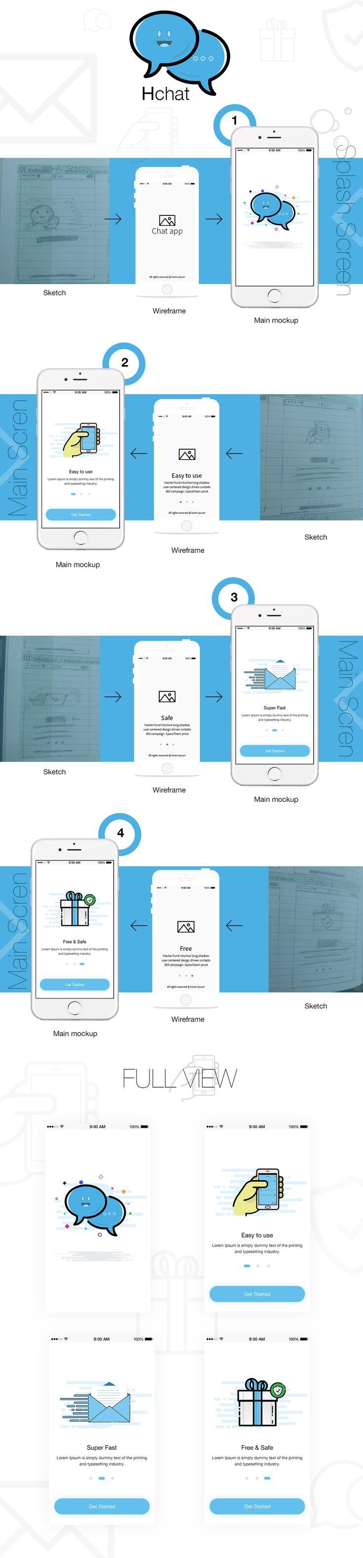Messaging App ios design Concept on Behance