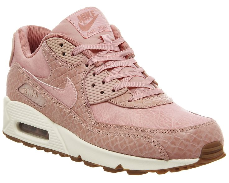 Nike Air Max 90 Pink Glaze Basket Weave Gum