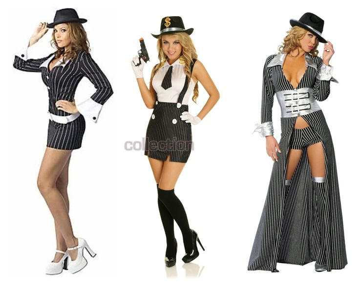 1920s gangster costumes - Halloween Mobster Costumes