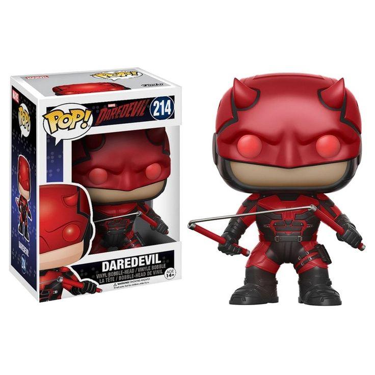 Funko Pop! Daredevil TV Daredevil with Helmet Mini Figure
