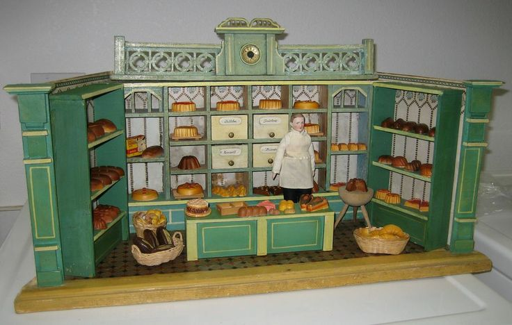 17 Best images about Antique Doll Shops & Miniatures on ...