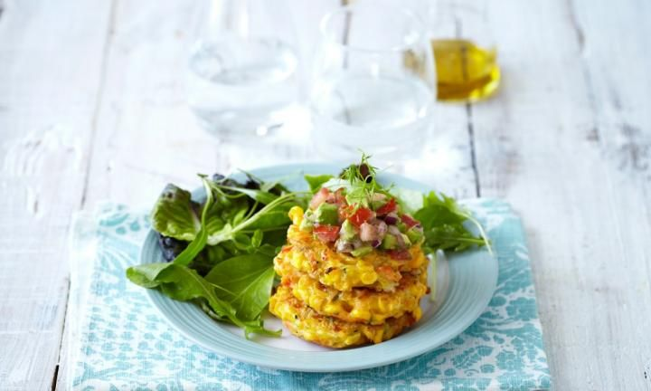 Fritters are great for kids as they're full of hidden veggies that your little ones will never know about. These corn fritters are tasty and simple, and will leave everyone at the dinner table full and satisfied.