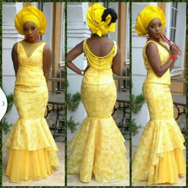 Image result for asoebi styles mid 50s