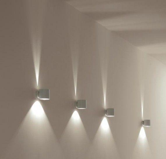 Faretti A Parete Design.Faretti Spot Da Parete Ispirazione Interior Design Idee