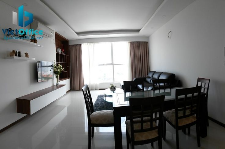 Thao Dien Pearl Apartment for rent, 8th floor, fully the furniture, price 1000$