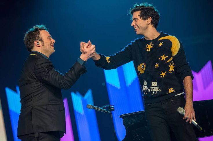 Mika and Raphael Gualazzi