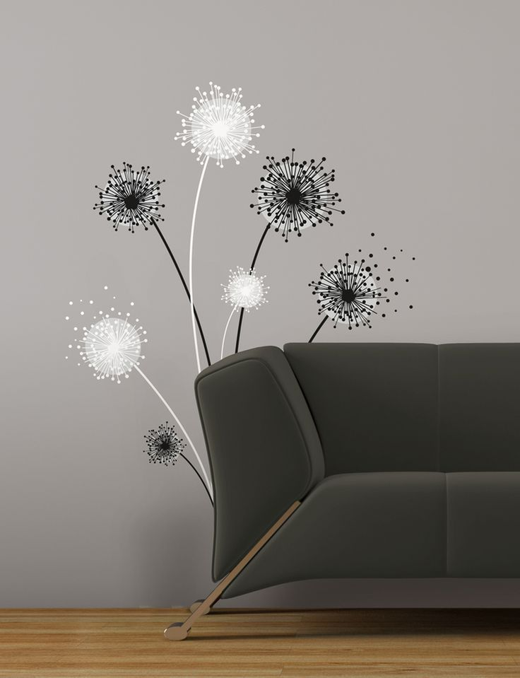 Wallpaper Inn Store - Graphic Dandelion Giant Wall Decal, R529,95 (http://shop.wallpaperinn.co.za/graphic-dandelion-giant-wall-decal/)