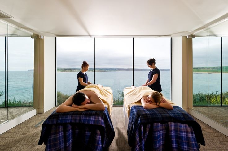 Couple Treatment Room, at the Well Spa, in the Cliff House Hotel