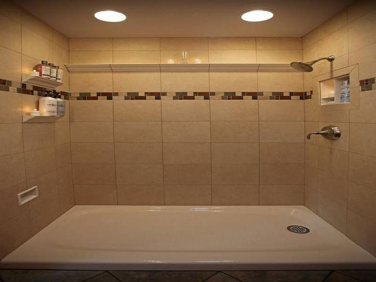 Shower Tile Designs For Bathrooms Design Ideas ~ http://lovelybuilding.com/black-and-white-tile-designs-for-bathroom-floors/