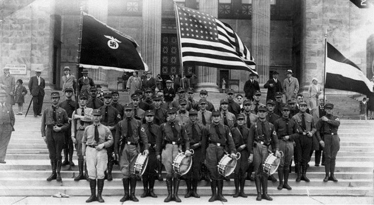 Chicago chapter of the German American Bund, May 1931.