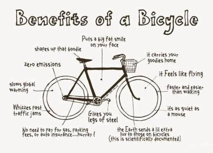 The Great Benefits Of Biking Especially That Smile While You Are Riding Bikingbasket Cycling Quotes Biking Benefits Bicycle