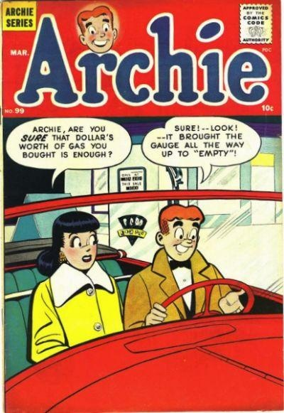 Archie Comics #99 - Comic Book Cover