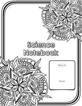 Science Notebook Covers for Composition Books by The ... |Human Studies Science Notebook Cover
