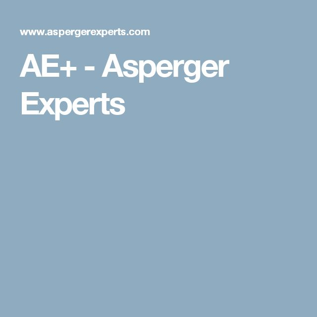AE+ - Asperger Experts