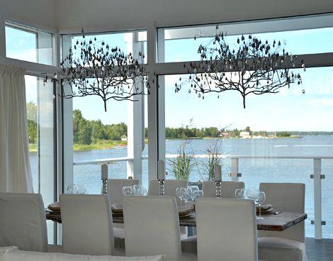 Pentik, white table setting