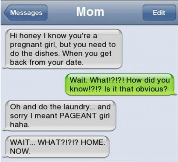 Best Funny Texts Pregnant Ideas On Pinterest Funny Texts - Husband text wife pics little accident kid home hilariously freaks