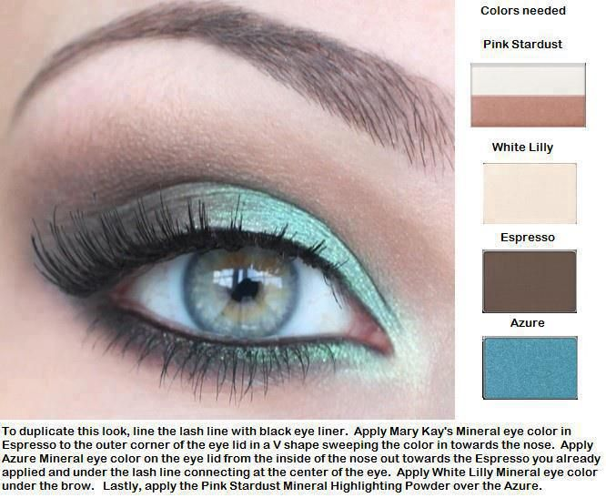 Beautiful Look only from Mary Kay!!