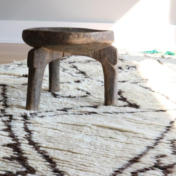 This Charming Little Hand Carved African Stool Was Carved From One Piece Of  Wood With A Simple Three Legged Design. This Vintage Stool Has Signs Of  Wear ...