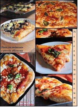 Anni fa (molti anni fa)preparavo la pizza in giornata: impastavo di primo pomeriggio e facevo lievitare fino a sera, in genere vicino a qualche calorifero, utilizzando il clas