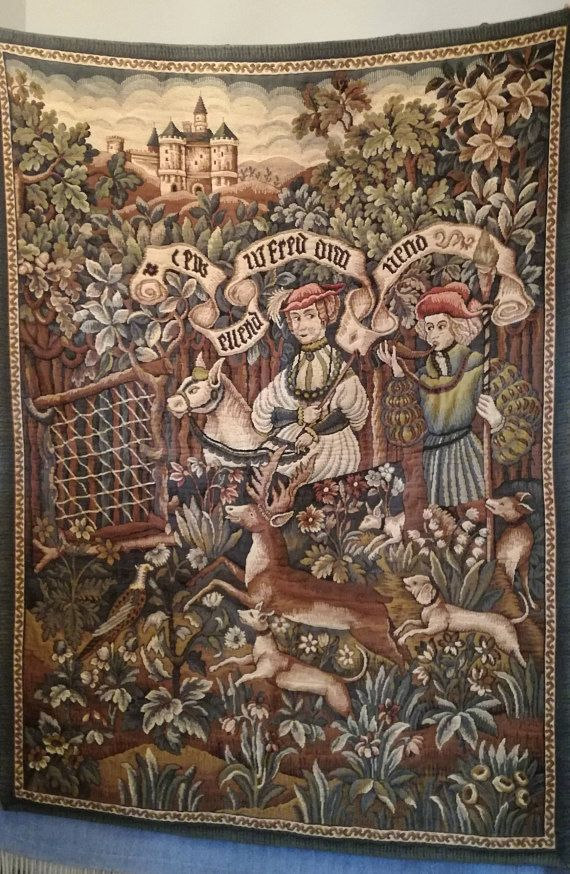 Check out this item in my Etsy shop https://www.etsy.com/listing/559984128/antique-french-tapestry-wool-tapestry