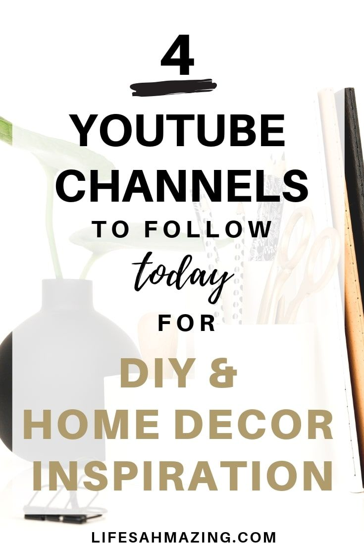 23 DIY and Home Decor YouTube Channels to follow in 23  Home diy