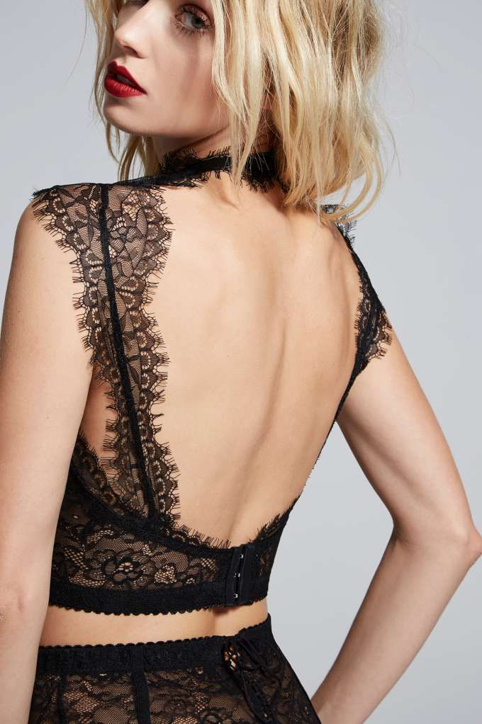 Love, Courtney by Nasty Gal Burn Black Lace Bustier - Nasty Gal Collection | Sale: Newly Added | Sale: 20% Off | Valentine's Day | Nasty Gal X Courtney Love | Bodysuits | Bras + Bralettes | Tops | Lingerie | Lingerie