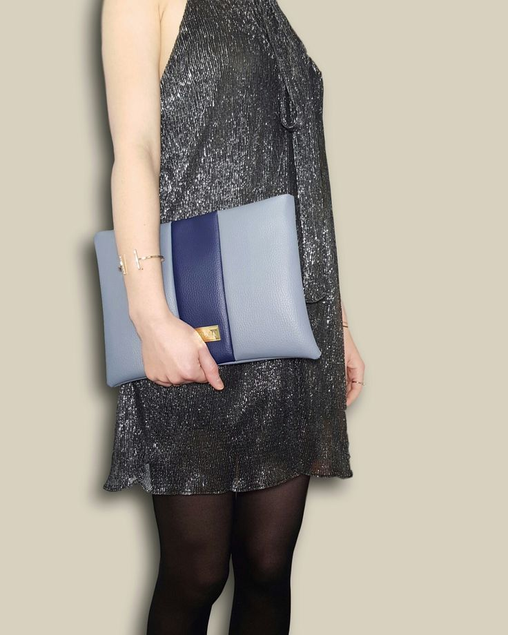 We're ready for the weekend♥ Featuring the grey-blue clutch. Shop at http://vilmaboutique.com .