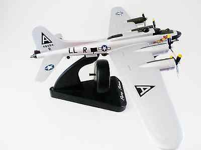 Flying Fortress B-17 Talking Alarm Clock with turning propellers