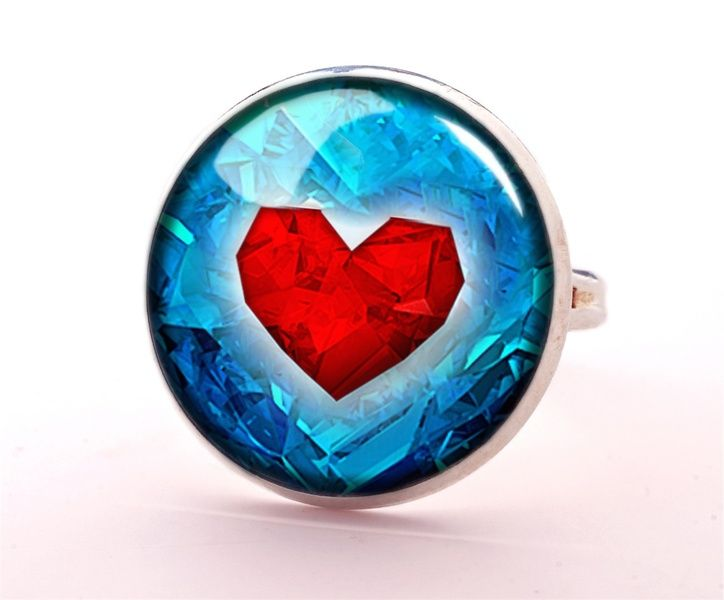 ZELDA Ring, Jewellery, 0345RS from EgginEgg by DaWanda.com