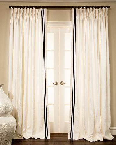 17 best ideas about curtain trim on pinterest custom for Window treatments for less