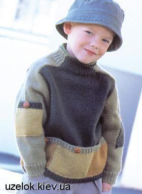 Деские вязаные свитера