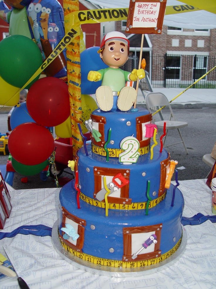 Handy manny my parties pinterest for Handy manny decorations