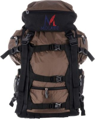 Moladz Caza Hiking Rucksack - 41 L Brown, Black - Price in India   Flipkart.com