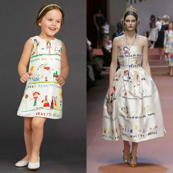 Hand Illustrated Mini Me Dress Trend Inspired By? | Dashin Fashion