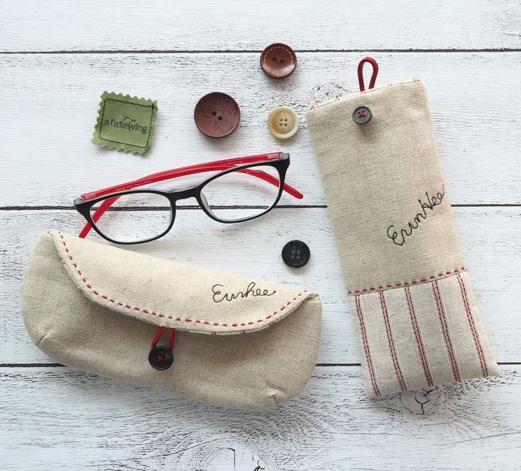 Sunglasses case, Glasses case and Eyeglasses DIY Tutorial