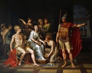 An overview of the progress of the trojan war in the iliad by homer