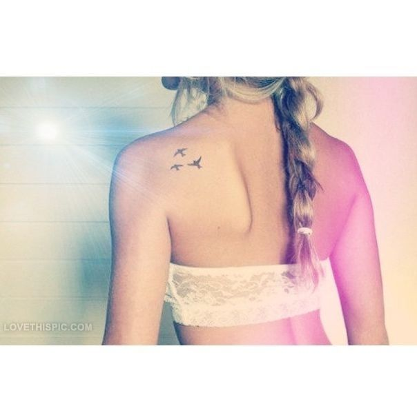 Cute Girly Tattoo Pictures, Photos, and Images for Facebook, Tumblr, Pinterest, and Twitter
