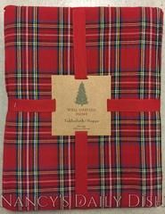 """New Tartan Plaid Well Dressed Home Red Tartan Plaid Traditional Tablecloth 60"""" Round - Nancy's Daily Dish"""