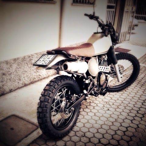 Honda Dominator scrambler | Honda | Motorcycles