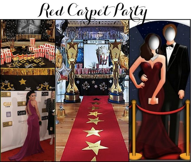 13 best oscars academy award party ideas images on. Black Bedroom Furniture Sets. Home Design Ideas