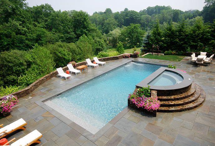 trends in landscape design piscinas casas y decoraci n. Black Bedroom Furniture Sets. Home Design Ideas