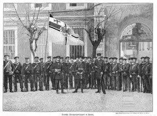ΟΙ ΓΕΡΜΑΝΟΙ ΤΟ 1898 ΣΤΑ ΧΑΝΙΑ.