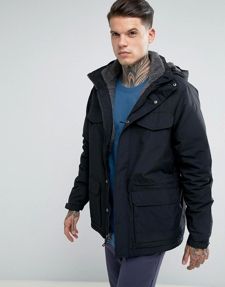 Get this Patagonia's parka now! Click for more details. Worldwide shipping. Patagonia Isthmus Parka Jacket Borg Lined With Detachable Hood in Black - Black: Jacket by Patagonia, Durable outer, Borg lining, Detachable hood, Zip placket, Press-stud closure, Functional pockets, Regular fit - true to size, Machine wash, 100% Polyester, Our model wears a size Medium and is 185.5cm/6'1 tall. Ready made for the great outdoors, Patagonia create high-quality clothing for the all-round active…