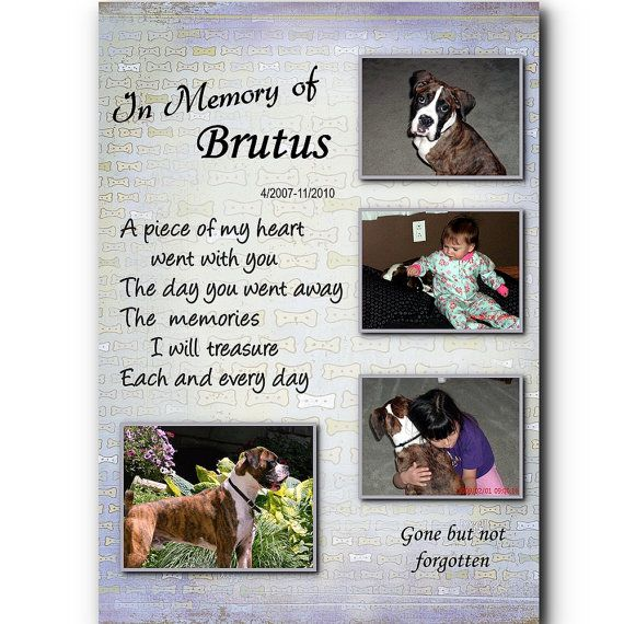 personalized dog memorial collage by thelaughingpet   21