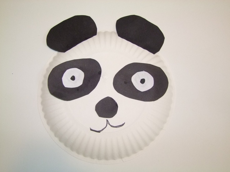Paper Plate Panda For Earthday. & Best 19 Panda Crafts ideas on Pinterest | Panda bear crafts Day ...