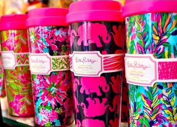 Lilly Pulitzer Thermal Mugs $15