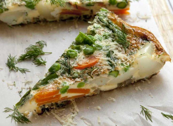 frittata, kuchnia włoska, omlet, przepis
